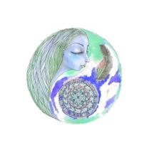 mermaid mandala blue copy